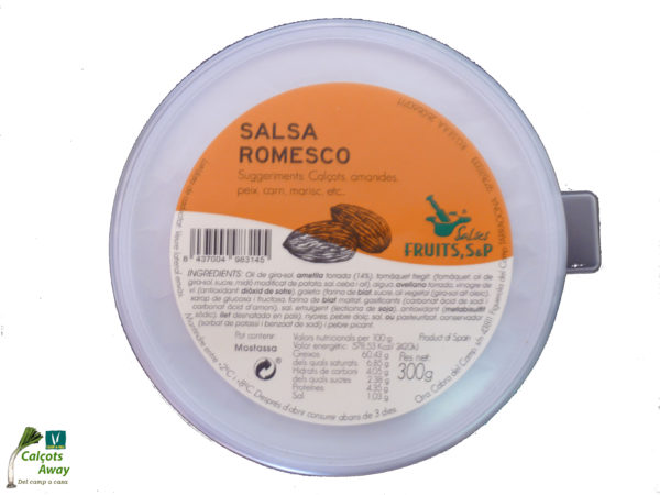 Salsa Romesco Fruits, S&P